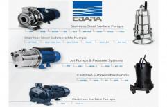 200 Meter Stainless Steel EBARA-Japan Pumps, For Industrial