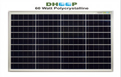 60 Wp DHOOP PP36 Cell 30MM POLY SOLAR PANEL