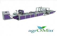 Agromill Automatic Non Woven Bag Making Machine, Power : 12kW