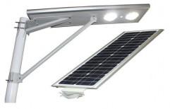 Aluminium Integrated LED Solar Street Light, Input Voltage: 12 V