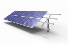 Aluminum Solar Panel Mounting Structure, Thickness: 2 to 3 mm