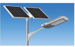 Aluminum SPJ Outdoor Solar LED Street Light