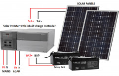 Battery Off Grid Solar Power Pack, Capacity: 2 Kw