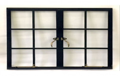 Black Mild Steel Pressed Window