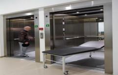 Blue Horse Elevators Stainless Steel Hospital Elevator