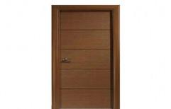 Brown 7 X 3 Both Side Laminated Flush Door, For Doors