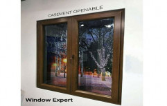 Brown Modern UPVC Wood Window