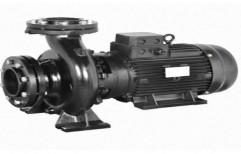 Cast Iron 50/60 Hz Horizontal End Suction Closed Coupled Design Pump Motor Set