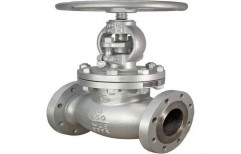 Cast Steel Flanged Globe Valve, Size: 15 NB-150 NB