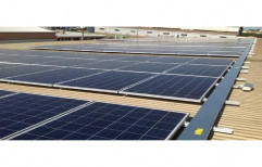 Commercial Rooftop Solar Power Panel System