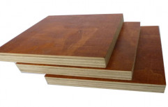 Door Waterproof Brown Plain Plywood, Thickness: 0.5 - 2 Inch