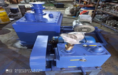 Double Stage Belt Drive Rotary Vane Pumps Vacuum Pump For Pharma Industries, Model Name/Number: PDHV, 5 To 7.5hp