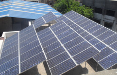 FGPS Mounting Structure Industrial Solar Power Plant, For Commercial, Capacity: 100 kW