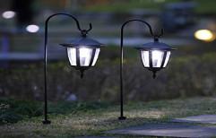 Fluorescent Mild Steel Outdoor Solar Light