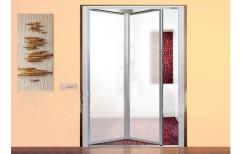 Foldable Bathroom Door