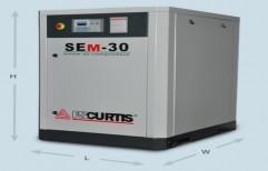FS Curtis Air Compressor, Model Name/Number: SEM-30