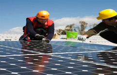 Grid Tie Solar Panel Installation Services, For Industrial, Size/Area: 200 to 1000 Square Feet