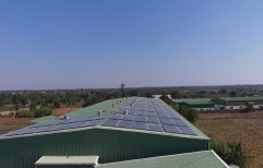 Grid Tie Solar Rooftop System for Commercial