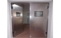 Hdpf White Steel Flip Flap Door