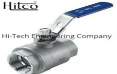 Hitco 15 Kg SS Ball Valve, Flanged