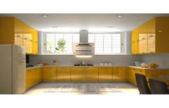 Hitech U Shape Modular Kitchen