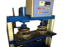 Hydraulic Paper Plate & Dona Making Machine