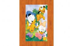 Interior Cartoon Printed Door