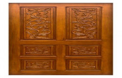 Interior Hinged Designer Teak Wood Door