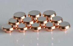 iREE Round Tungsten Silver Bimetal , Trimetal Solid Rivets