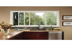 Kitchen UPVC Windows, Glass Thickness: 6 mm