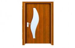 Matte Brown PVC Glass Door, Exterior