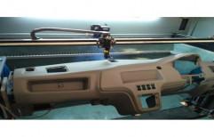 Mild Steel 80w-150w 4 Axis Laser Cutting Machine for Industrial