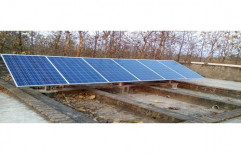 Mounting Structure Off Grid Poly Crystalline Solar Panel, for Commercial, Capacity: 10 Kw