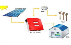 Off Grid 100Kw Home Solar Power System, Capacity: 100 Kw
