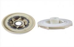 Partially open Plastic R4 Cora Bowl Impeller Set