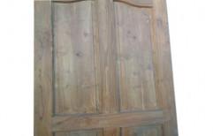 Plain Wood 18 mm Wooden Main Door