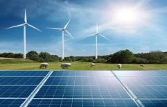 Renewable Solar Wind Hybrid Mill System