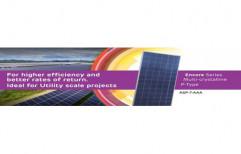 Roof Top Adani Solar DCR Poly Crystalline Modules Solar Panel, Dimensions: 1.9 m x 1 m