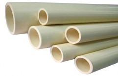 Round 1/2 inch White CPVC Pipe, Length of Pipe: 6 m