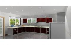 ROYAL PVC Aluminium Kitchen, Warranty: 10-15 Years, Kitchen Cabinets