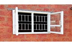 Shri Pant Powder Coated Mild Steel PHMS Window