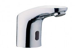 Silver Stainless Steel Automatic Sensor Tap, For Bathroom Fitting