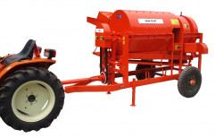 Single Crop Amar Small Tractor Paddy Thresher, Capacity: 400-800 Kg Per Hour, For Rice Threshing