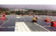 Solar Panel Installation Service, Size/Area: <200 Square Feet