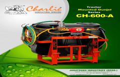 Charlie Black and Orange Spray Pumps, Capacity: 600 Liters, Model Name/Number: CH-600-A