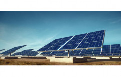 Sunergize Mounting Structure Solar Power Plant, For Residential, Capacity: MW scale