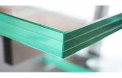 Transparent Laminated Safety Glass, Rectangular