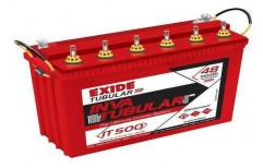 Tubular 200 Ah Exide Solar Battery, Model Name/Number: IT500, 12 V