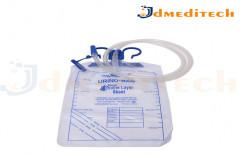 Ultra Soft PVC Film Urine Bag, For Hospital, Size: 2000ML