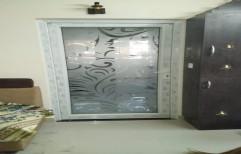 White UPVC Doors, Exterior